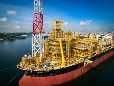 Η Kaombo FPSO υποστηρίζει την παραγωγή πλήρους γαλλικού ομίλου Total σε offshore Kaombo field στην Αγκόλα. (Φωτογραφία: Σύνολο)