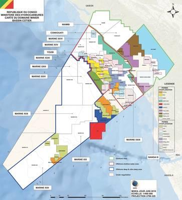 Kongos Öl- und Gasblöcke (Bild: Ministerium für Kohlenwasserstoffe)