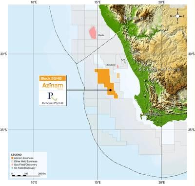 Licenças do Azinam na África do Sul e na Namíbia (Imagem: Azinam)