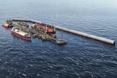 Maior Tortura Ahmeyim LNG desenvolvimento (Imagem: BP)