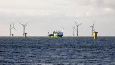 Parque eólico marino SeaMade. Imagen: Grupo DEME