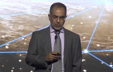 Qasem Al Kayoumi, vice-presidente sênior da ADNOC, centro técnico (Foto: Halliburton)