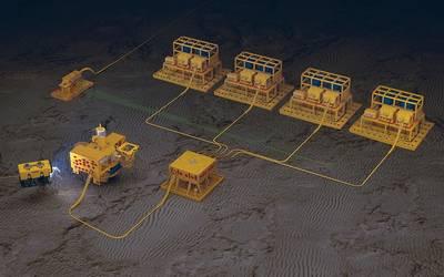 El SPT de Oceaneering es escalable para cumplir con los requisitos de campo. (Fuente: Oceaneering)