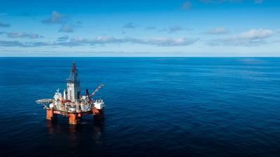 A plataforma de perfuração West Hercules no Mar de Barents. (Foto do PFile: Ole Jørgen Bratland, Equinor)