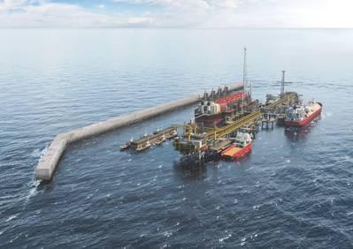 O projeto Tortue da BP recebeu luz verde no ano passado e entrará em operação em 2022. (Imagem: BP)