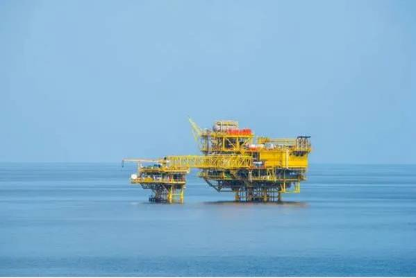 1Alpha and Beta platforms on Bualuang Field, Thailand (File Photo: Ophir Energy)