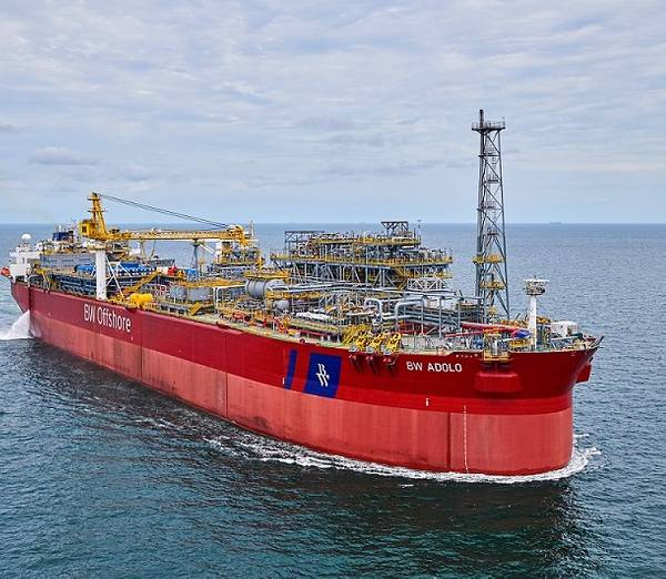 BW Adolo FPSO is used for oil production at BW's Dusaffu field in Gabon - Image by BW Offshore