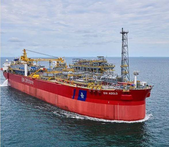 BW Adolo FPSO is used for oil production by BW in Gabon - Image by BW Offshore