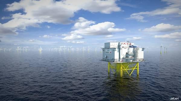 Aibel will supply high-voltage transformer platforms to Dogger Bank - Credit: Aibel