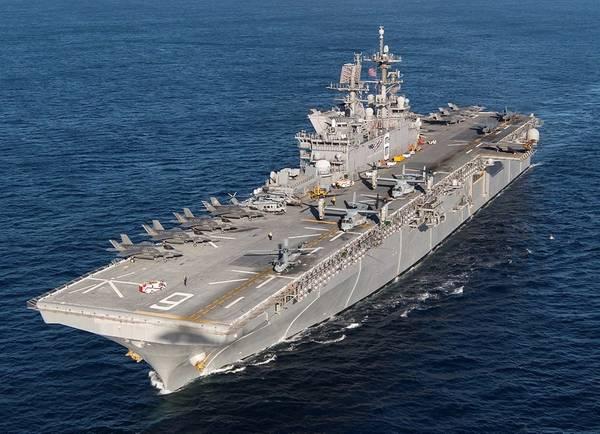 USS America - Public Domain License