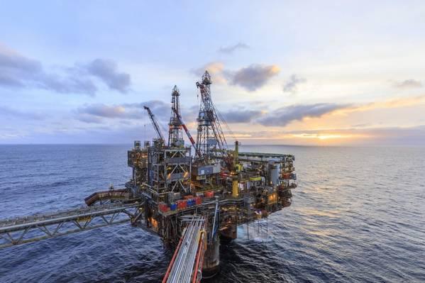 Apache's UK North Sea platform - Credit: APA (File Photo)