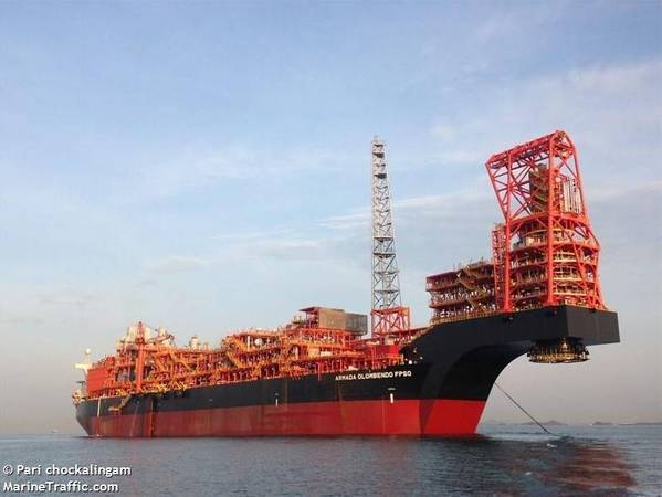 Armada Olombendo FPSO - Credit: Pari Chockalingam/MarineTraffic.com