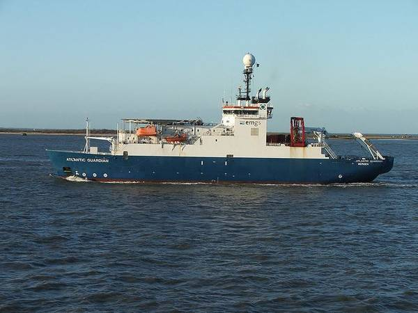 EMGS' Atlantic Guardian vessel deployed in Mexico - Image by SteKrueBe - Shared under CC BY-SA 3.0 license