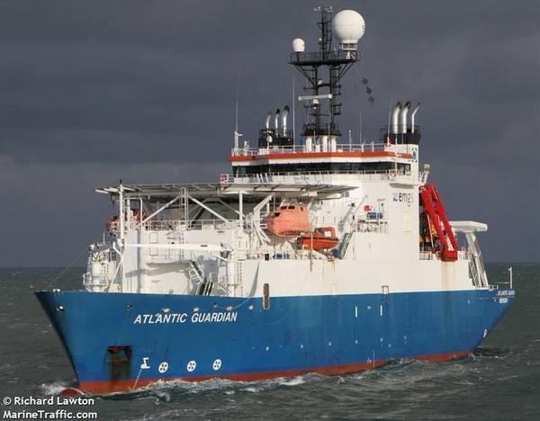 Atlantic Guardian vessel - Image by Richard Lawton - MarineTraffic