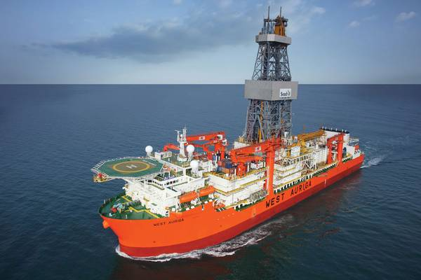 West Auriga will drill on Puma West before the end of October (Photo: Seadrill)