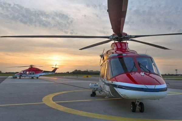 AW139 - Credit; CHC