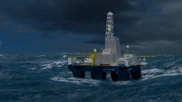 Awilco Drilling's CS60 ECO rig design (Image: Awilco Drilling)