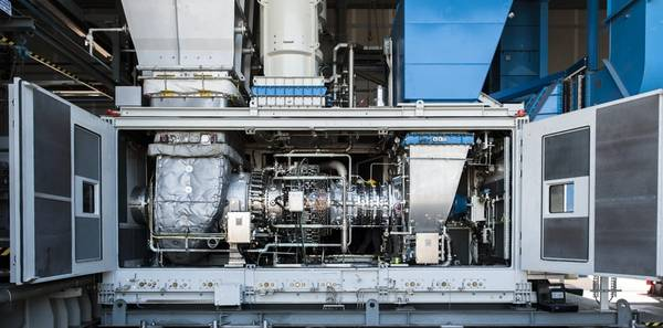 Snam and Baker Hughes recently tested the world's first hydrogen blend turbine for gas networks (Photo: Baker Hughes)