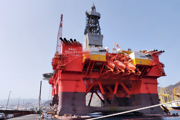 West Bollsta rig / (Photo:Semco Maritime)