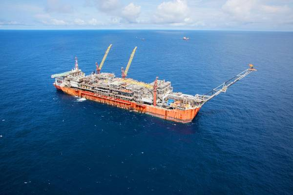 Bonga FPSO offshore Nigeria - Credit: Giles Barnard/ Photographic Services, Shell International Limited.