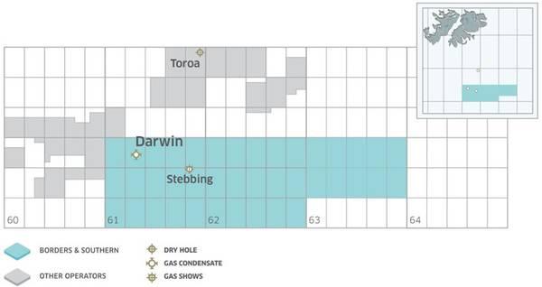 Borders & Southern Petroleum's Falklands Acreage