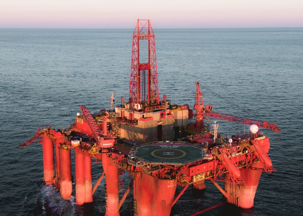 Borgland Dolphin drilling rig - Credit: Dolphin Drilling