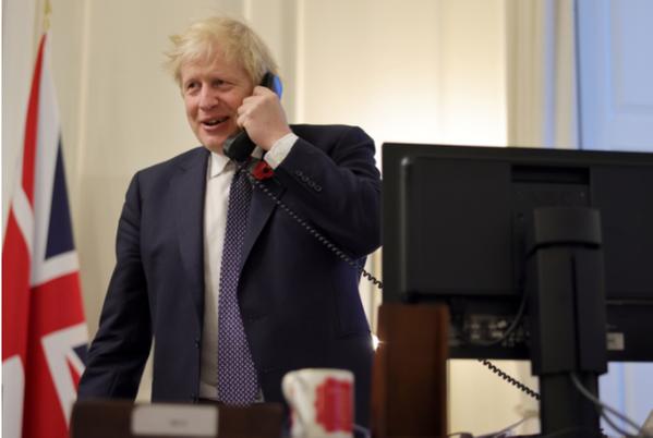UK PM Borish Johnson (File Photo: UK Government)