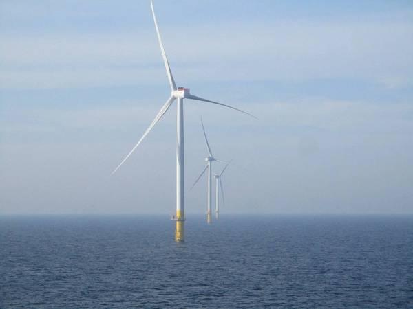 Borssele 1 & 2 offshore wind farm - Credit: Ørsted