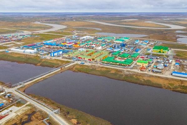 Bovanenkovo settlement - Image Credit: Gazprom