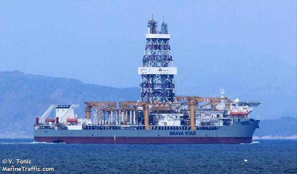 Brava Star drillship - Credit: V. Tonic/MarineTraffic.com