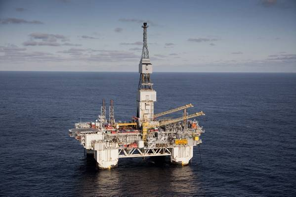 Over budget: the Njord A, part of the Njord New project (Photo: Equinor)