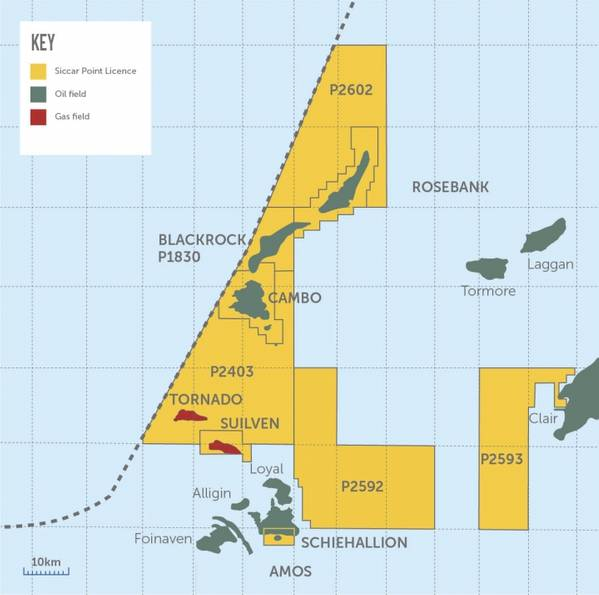 Cambo Map - Image by Siccar Point Energy