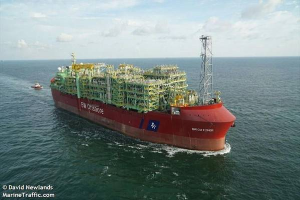 Catcher FPSO used for oil production at the Catcher field / Credit: David Newlands/MarineTraffic.com