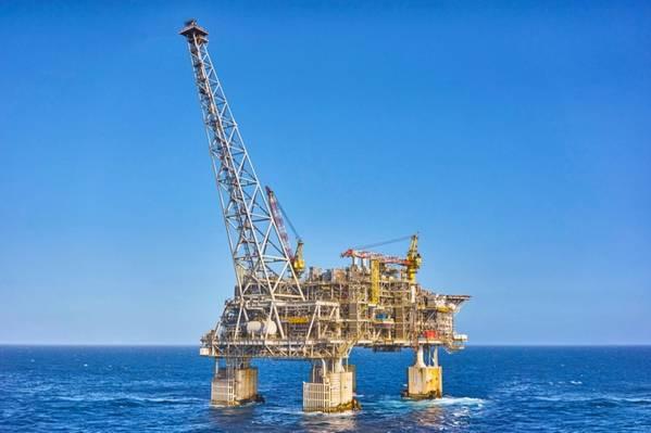 Chevron's Wheatsone platform - Credit: Chevron Australia