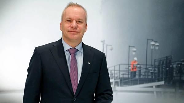 Chief executive Anders Opedal. (Photo: Arne Reidar Mortensen)