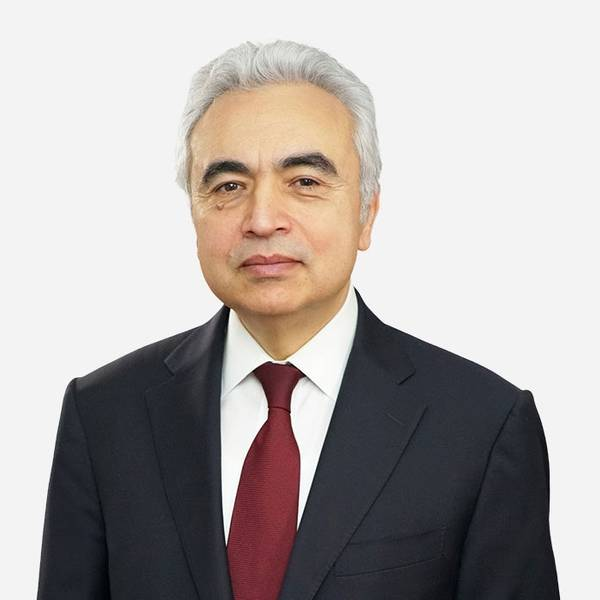 IEA Chief Executive Director Fatih Birol/Credit: IEA