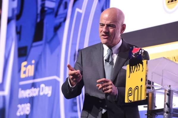 Eni CEO Claudio Descalzi (Photo: Eni)