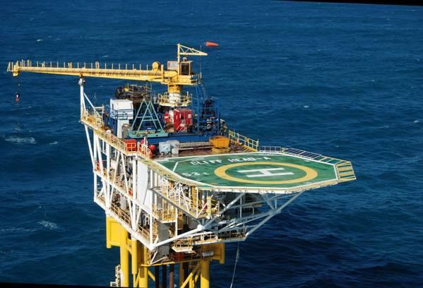 Cliff Head Platform / Image Credit: Triangle Energy