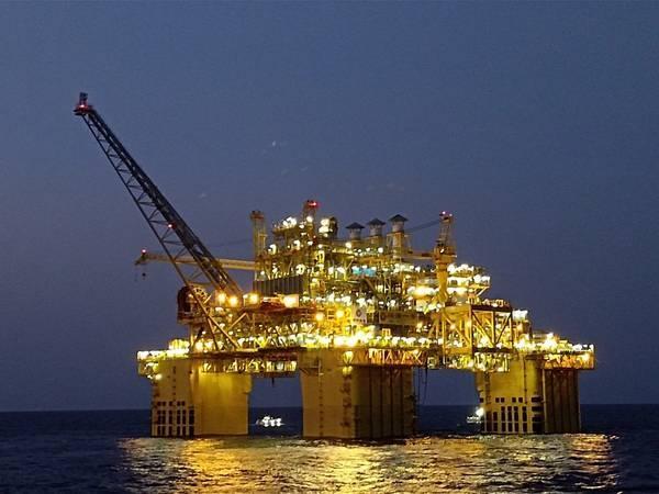 A CNOOC offshore platform  - Photo courtesy China Classification Society