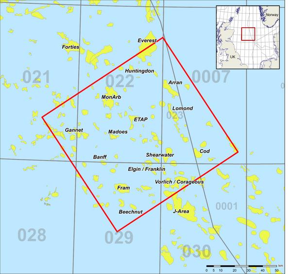 Cornerstone Map  Credit: Magseis Fairfield