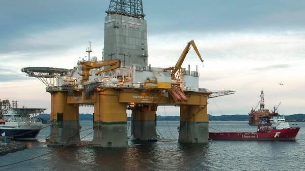 The Deepsea Atlantic drilling rig. (Photo: Marit Hommedal / Equinor ASA)