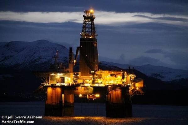 Deepsea Atlantic - Image by Kjell Sverre Aasheim/MarineTraffic