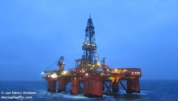 Deepsea Bergen Drilling Rig - Image by Jan Henry Knutsen - Marine Traffic