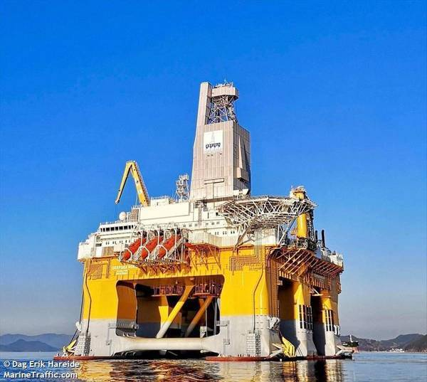 Deepsea Nordkapp - Credit: Dag Erik Hareide/MarineTraffic.com
