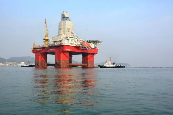 Deepsea Yantai (Previously named Beacon Atlantic) - Image Credit: Odfjell Drilling