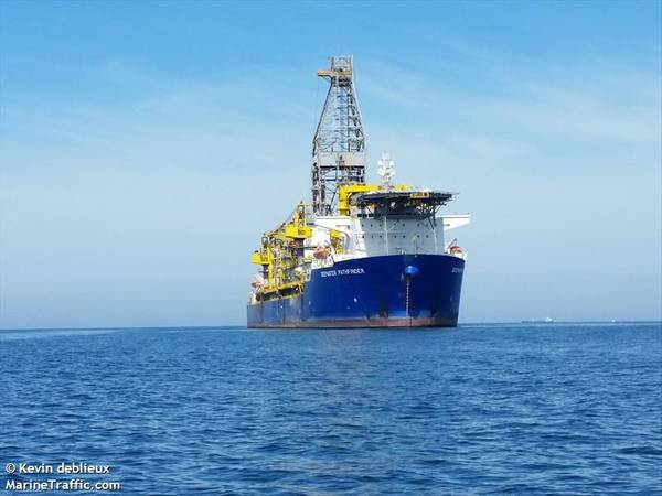 Deepwater Pathfinder - Image by Kevin Deblieux - MarineTraffic