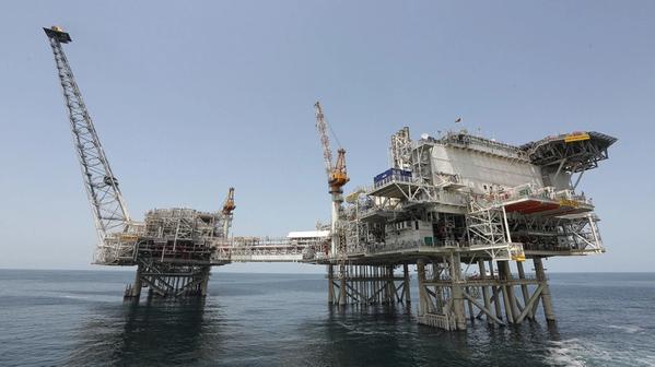 Shah Deniz Bravo platform - Credit: BP