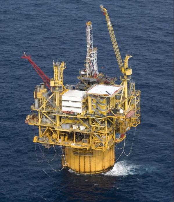 Devils Tower Spar offshore platform.- Credit: Tad Denson / AdobeStock
