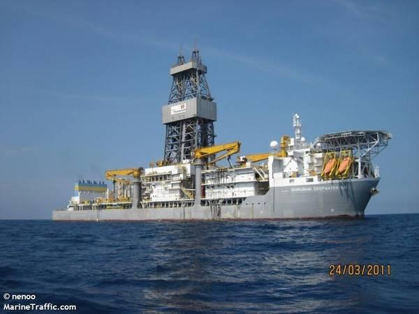 Dhirubhai Deepwater KG1/Image by nenoo/MarineTraffic.com