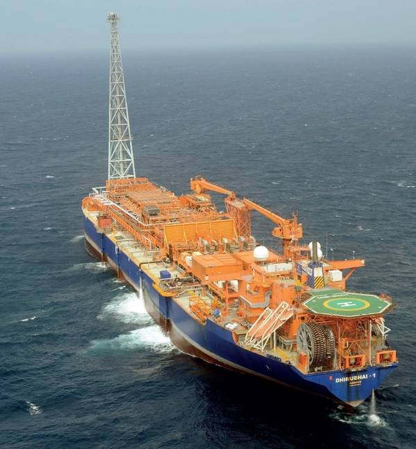 FPSO Dhirubhai-1. Image: Aker Floating Production